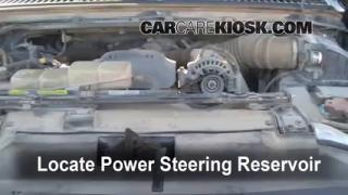Follow These Steps to Add Power Steering Fluid to a Ford F-250 Super Duty (1999-2007)