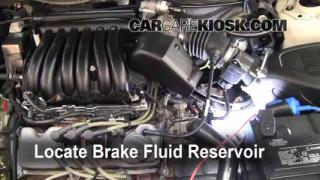 Add Brake Fluid: 2000-2007 Ford Taurus