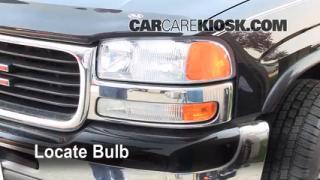 Highbeam (Brights) Change: 2000-2006 GMC Yukon XL 2500