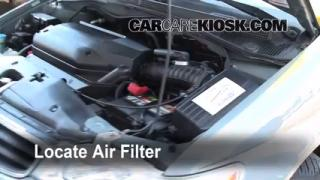 Air Filter How-To: 1999-2004 Honda Odyssey