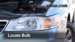 Front Turn Signal Change Honda Odyssey (1999-2004)