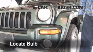 2002 Jeep Liberty Limited 3.7L V6 Lights Headlight (replace bulb)