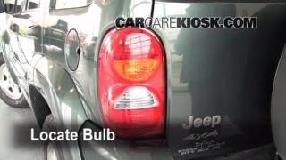 2002 Jeep Liberty Limited 3.7L V6 Lights Turn Signal - Rear (replace bulb)