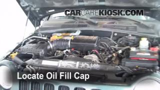 How to Add Oil Jeep Liberty (2002-2007)