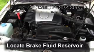Add Brake Fluid: 1995-2002 Kia Sportage