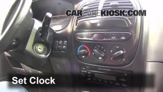2002 Kia Sportage 2.0L 4 Cyl. Sport Utility (4 Door) Clock Set Clock