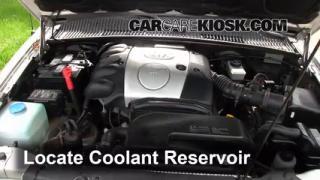 Fix Antifreeze Leaks: 1995-2002 Kia Sportage