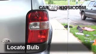 2002 Kia Sportage 2.0L 4 Cyl. Sport Utility (4 Door) Lights Tail Light (replace bulb)