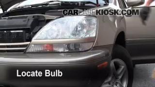 Highbeam (Brights) Change: 1999-2003 Lexus RX300