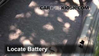 Battery Replacement: 2000-2002 Lincoln LS