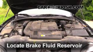 Add Brake Fluid: 2000-2002 Lincoln LS