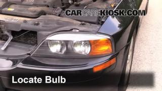 Front Turn Signal Change Lincoln LS (2000-2002)