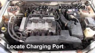 How to Add Freon in a 1999-2003 Mazda Protege