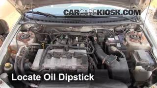 Check Oil Level 1999-2003 Mazda Protege