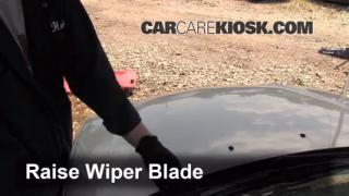 Front Wiper Blade Change Mazda Protege (1999-2003)