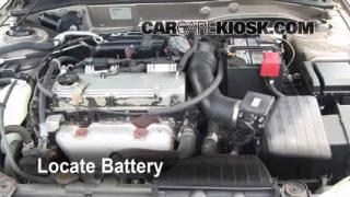 Battery Replacement: 1999-2003 Mitsubishi Galant