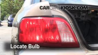 Reverse Light Replacement 1999-2003 Mitsubishi Galant