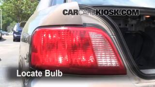 Tail Light Change 1999-2003 Mitsubishi Galant