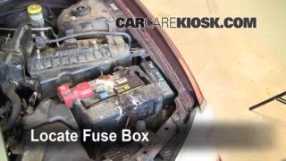 Replace a Fuse: 2000-2003 Nissan Maxima