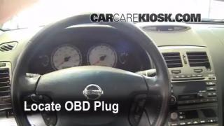 Engine Light Is On: 2000-2003 Nissan Maxima - What to Do