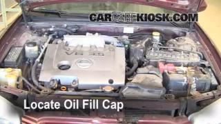 How to Add Oil Nissan Maxima (2000-2003)