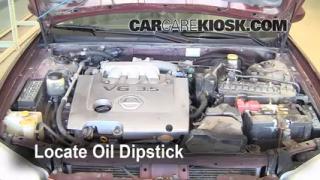 Check Oil Level 2000-2003 Nissan Maxima