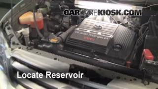 2002 Toyota Highlander Limited 3.0L V6 Windshield Washer Fluid Add Fluid