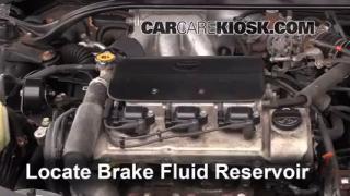 Add Brake Fluid: 1999-2003 Toyota Solara