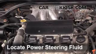 Follow These Steps to Add Power Steering Fluid to a Toyota Solara (1999-2003)