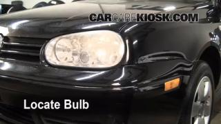 Headlight Change 1995-2002 Volkswagen Cabrio