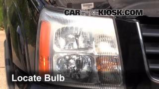 2003 Cadillac Escalade 6.0L V8 Lights Parking Light (replace bulb)