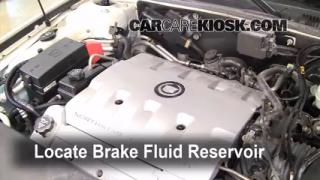 2003 Cadillac Seville SLS 4.6L V8 Brake Fluid Check Fluid Level