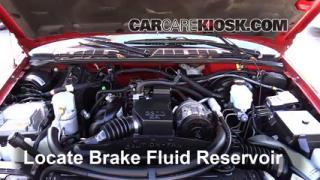 1994-2004 Chevrolet S10 Brake Fluid Level Check