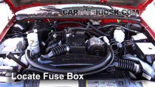 Blown Fuse Check 1994-2004 Chevrolet S10