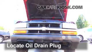 Oil & Filter Change Chevrolet S10 (1994-2004)