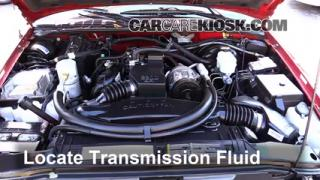 Add Transmission Fluid: 1994-2004 Chevrolet S10