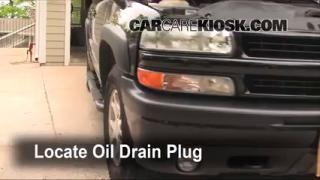2003 Chevrolet Suburban 1500 LT 5.3L V8 Oil Change Oil and Oil Filter