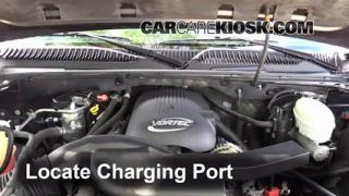 2003 Chevrolet Tahoe LS 5.3L V8 Air Conditioner Recharge Freon