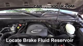 2003 Chevrolet Tahoe LS 5.3L V8 Brake Fluid Check Fluid Level