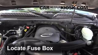 2003 Chevrolet Tahoe LS 5.3L V8 Fuse (Engine) Replace