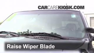 2003 Chevrolet Tahoe LS 5.3L V8 Windshield Wiper Blade (Front) Replace Wiper Blades