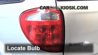 Reverse Light Replacement 2001-2004 Dodge Caravan