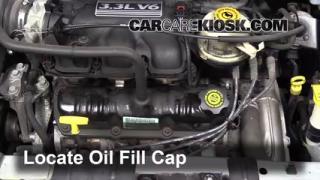 How to Add Oil Dodge Caravan (2001-2004)