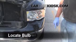 Parking Light Change 2003-2005 Dodge Ram 2500