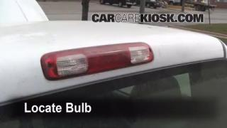 Third Brake Light Bulb Change GMC Sierra 1500 (1999-2007)