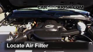 2003 GMC Sierra Denali 6.0L V8 Air Filter (Engine) Replace