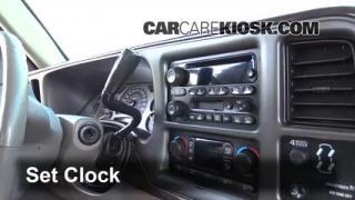 2003 GMC Sierra Denali 6.0L V8 Clock Set Clock