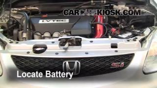 2003 Honda Civic Si 2.0L 4 Cyl. Battery Jumpstart