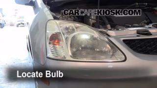 Headlight Change 2001-2005 Honda Civic