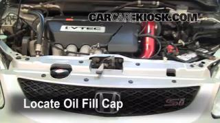How to Add Oil Honda Civic (2001-2005)